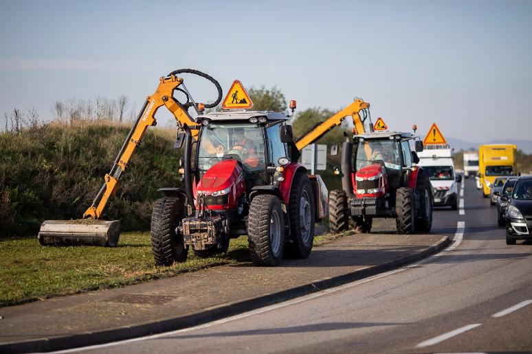 Nous intervenons rapidement sur une vaste zone de la région Rhône-Alpes et du réseau autoroutier APRR et ASF